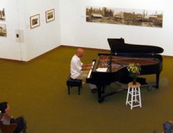 Scot Ranney jazz piano concert in Bellingham, Washington