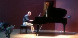 Scot Ranney free community jazz piano concert in Bellingham, Washington