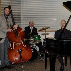 Scot Ranney Trio with Andy Simmons on bass, Grant Wilson on drums, Scot Ranney on piano